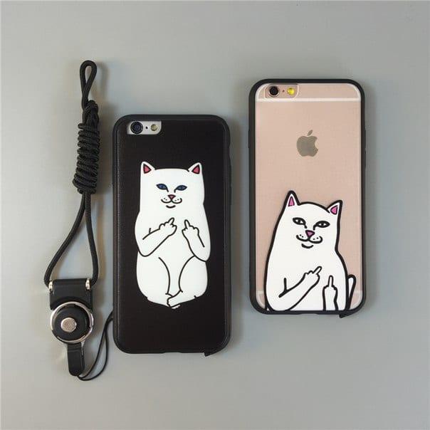 Чехол с котом 5s