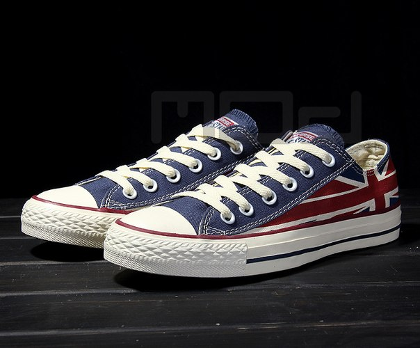 Кеды Converse All Star Great Britain flag фото