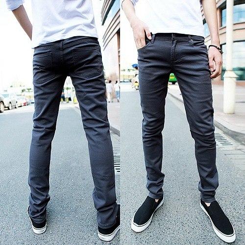 e84046ad043 Мужские серые джинсы купить недорого в интернет-магазине MOD