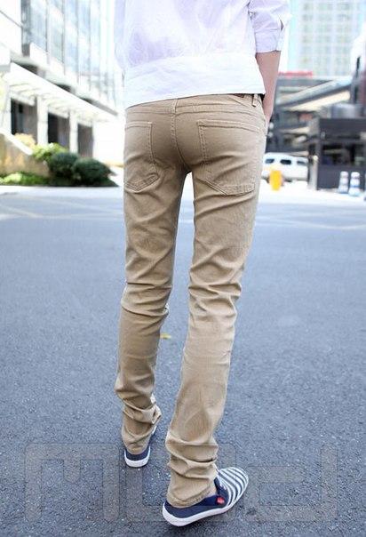 af74caf2228 Мужские бежевые джинсы купить недорого в интернет-магазине MOD