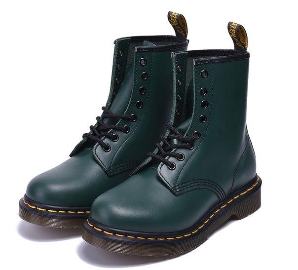 2d41e56133ee Ботинки Dr. Martens 1460 зеленые купить недорого в интернет-магазине MOD