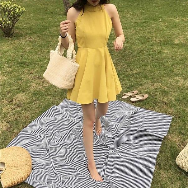 59abe2ac7a1 Женское летнее платье без рукавов купить недорого в интернет ...