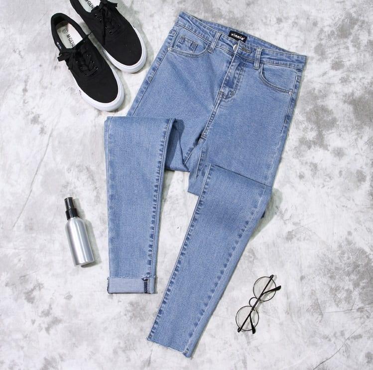 86035db0299 Женские джинсы с высокой талией с осветлением купить недорого в ...