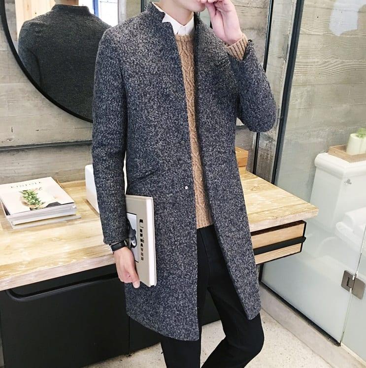 мужское легкое вязаное пальто купить недорого в интернет магазине Mod