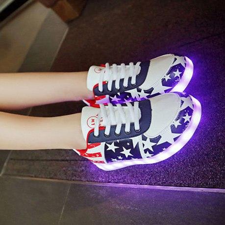 Лед кроссовки с американским флагом (LED) купить недорого в интернет ... 541954c5f7e