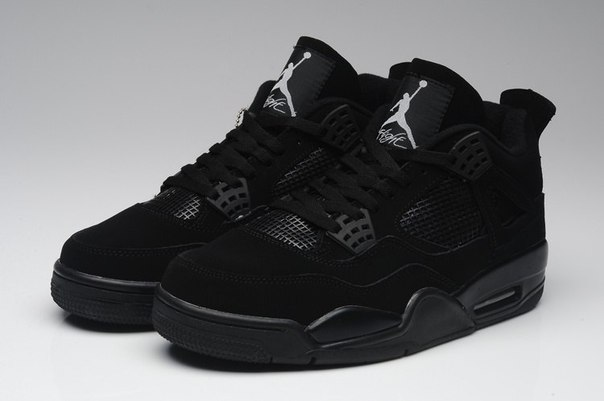 Nike Air Jordan 4 Retro Black Cat фото