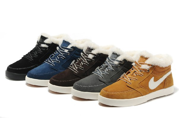 Nike BLAZ MID Anti fur Winter фото