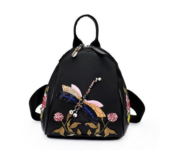 4c0096ebc0d2 Женский рюкзак со стрекозой купить недорого в интернет-магазине MOD