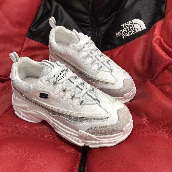 a21960e0 Женские кроссовки с толстой подошвой купить недорого в интернет ...