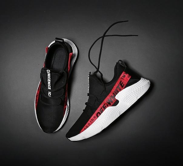 Черные мужские кроссовки Off white купить недорого в интернет ... 51f99e0f8cc