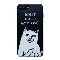 Чехол с котом Ripndip Don't Touch My Phone
