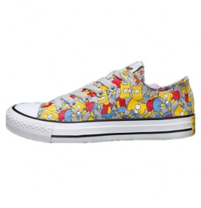 Converse All Star Simpsons фото