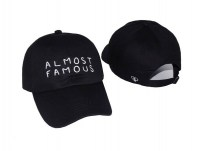 Кепка с надписью Almost Famous