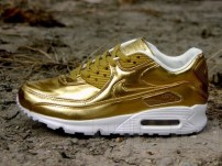 Nike Air Max 90 Liquid Gold &  Silver